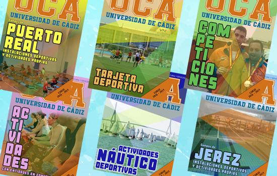 IMG Disponibles los folletos con la programación del Área de Deportes
