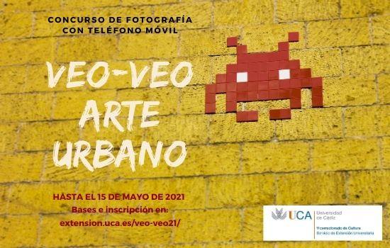 """IMG El vicerrectorado de Cultura de la UCA presenta las bases del Concurso de Fotografía """"Veo-Veo. Arte Urbano"""""""